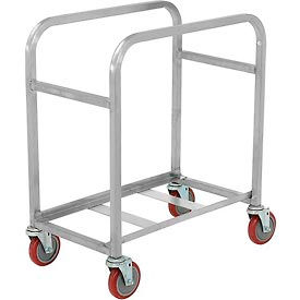 "SS-L-2 Winholt Mobile Stainless Steel Lug Cart SS-L-2 Capacity 2 Lug, 25""L x 16""W x 33""H, No Lugs"