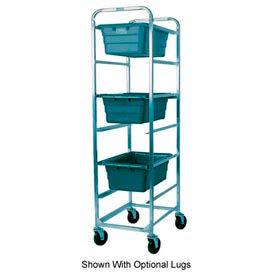 Winholt Mobile Stainless Steel Lug Cart SS-L-6 Capacity 6 Lug, No Lugs