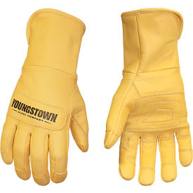 leather utility gloves - leather utility plus - medium Leather Utility Gloves - Leather Utility Plus - Medium