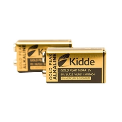 Kidde 9V Alkaline Batteries