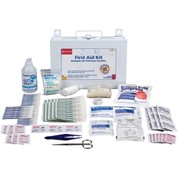 25-Person Bulk First Aid Kit w/ CPR Shield