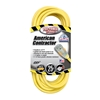 Outdoor Extension Cord w/ Lighted End, 12/3 ga, 15 A, 25