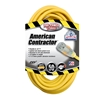Outdoor Extension Cord w/ Lighted End, 12/3 ga, 15 A, 50