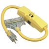 GFCI Protected In-Line Tri-Cord w/ Lighted End, SEOW,  2 1/2