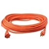 Outdoor Extension Cord, 12/3 ga, 15 A, 50, Orange