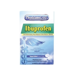 Ibuprofen Pain Reliever, 200 mg, 2 Pkg/50 ea