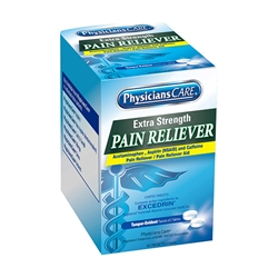 Extra-Strength Pain Reliever, 2 Pkg/50 ea