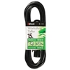 Outdoor Extension Cord, 16/3 ga, 13 A, 15, Black