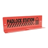 "TruForce™ Heavy-Duty Padlock Station, 10 Lock, 3 1/4"" x 10 3/4"""