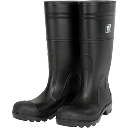 "MCR Safety® 14"" PVC Boots, Steel Toe, Size 11"